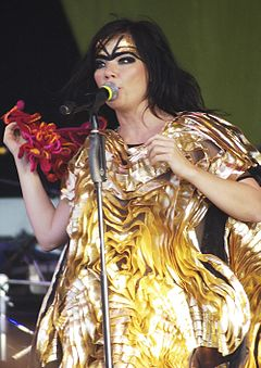 Björk Guðmundsdóttir, cantora da Islândia