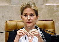 Ellen Gracie, ex-presidente do STF