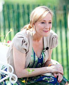 J. K. Rowling, escritora de Harry Potter