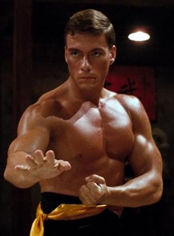 Jean-Claude Van Dame, especialista em artes marciais e ator