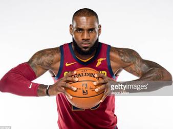 LeBron James, jogador de basquete