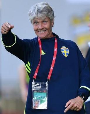 Pia Sundhage, técnica de Seleção Feminina do Brasil