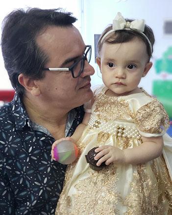 Valentina Baena Vieira, 3 anos