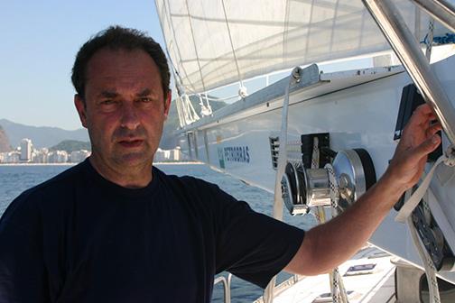 Amyr Kling, velejador