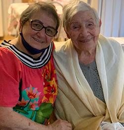Anália Américo, 96 anos em 2020