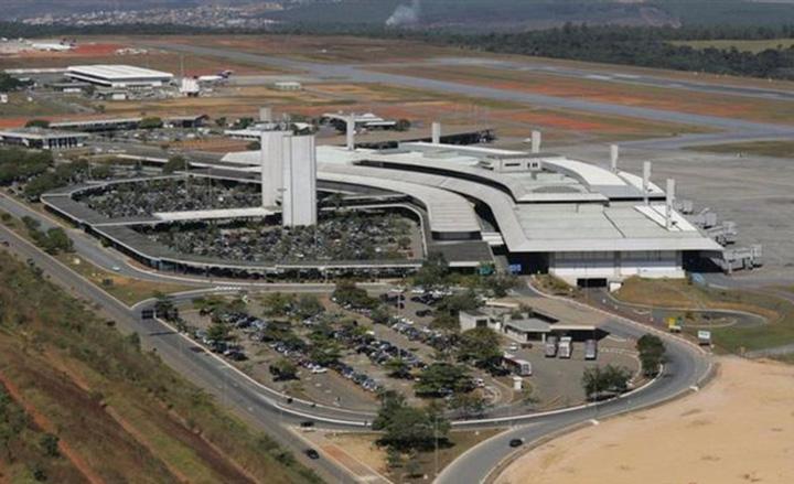 Confins, em Minas Gerais, o aeroporto mais pontual do mundo, apontado pela empresa Cirium. Foto ANAC
