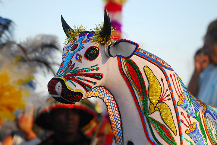 Bumba Meu Boi, no Maranhao, reconhecido como patrimonio da humanidade. Foto IPHAN, Edgar Rocha