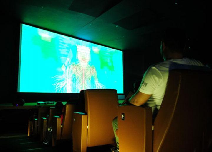 Fica para 2021, acessibilidade em cinemas a deficientes fisicos e visuais. Ag Brasilia,Pedro Ventura