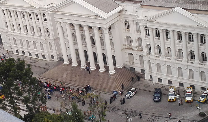 Censo em andamento vai mostrar universidades brasilerias como a do Parana. Foto Vera Costa.