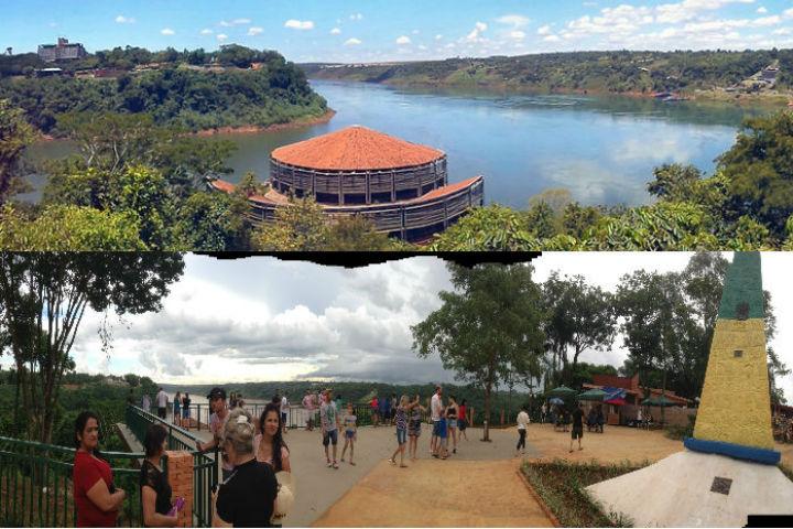 Nas tres fronteiras, em Foz do Iguacu, Brasil instala centro integrado de seguranca contra os crimes