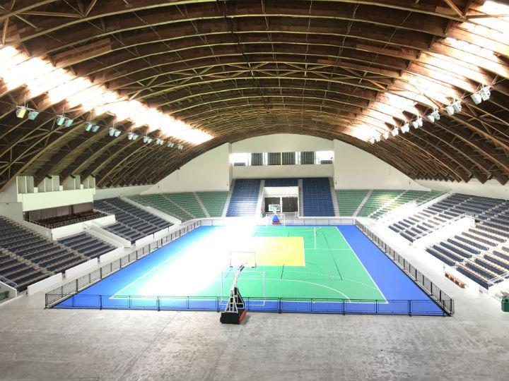 Ginásio do Tarumã está pronto para ser reinaugurado e atrair grandes eventos para Curitiba