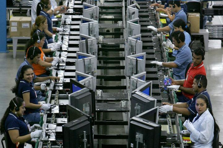 Numeros mostram que industria aumenta uso da capacidade instalada no Brasil