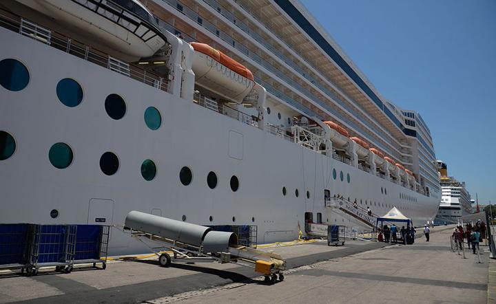 Navios de cruzeiro desembarcaram mais de 3 mil passageiros no Porto do RJ. Foto AgBr, Tomaz Silva