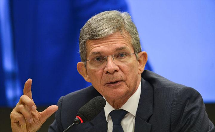 Joaquim Silva e Luna, presidente da Petrobras falou de precos de combustiveis e venda de refinarias