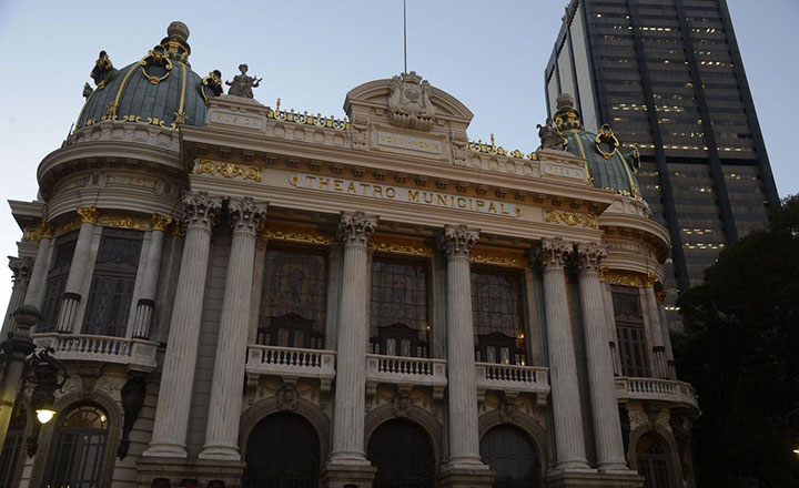 Theatro Municipal e cinemas estao abertos no Rio de Janeiro. Foto Agencia Brasil Fernando Frazao