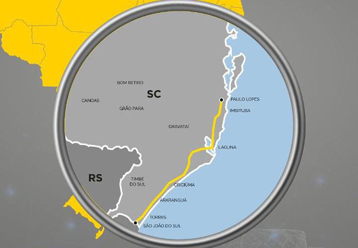No primeiro leilao de rodovias a CCR ganhou 220 km da BR-101 com a menor tarifa de pedagio: R$ 1,97