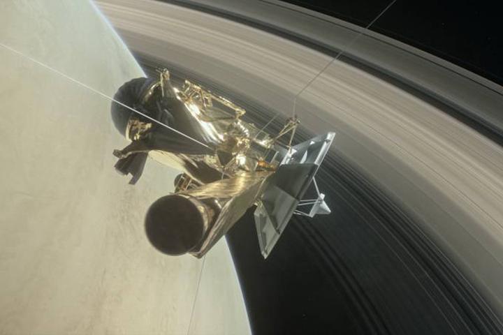 Pesquisas com dados da sonda Cassini, ja destruida, revelam composicao de Saturno e aneis
