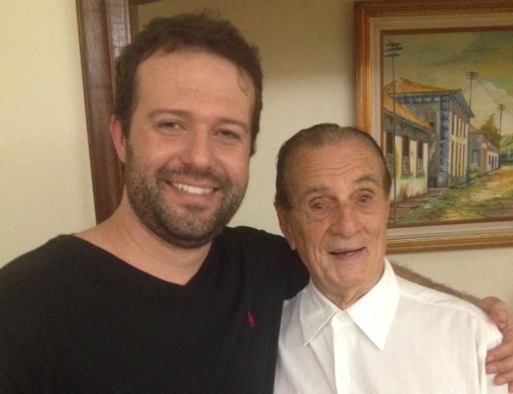 Humorista Seu Peru, saúde e alegria aos 95 anos, com o jornalista Luiz Nunes Junior