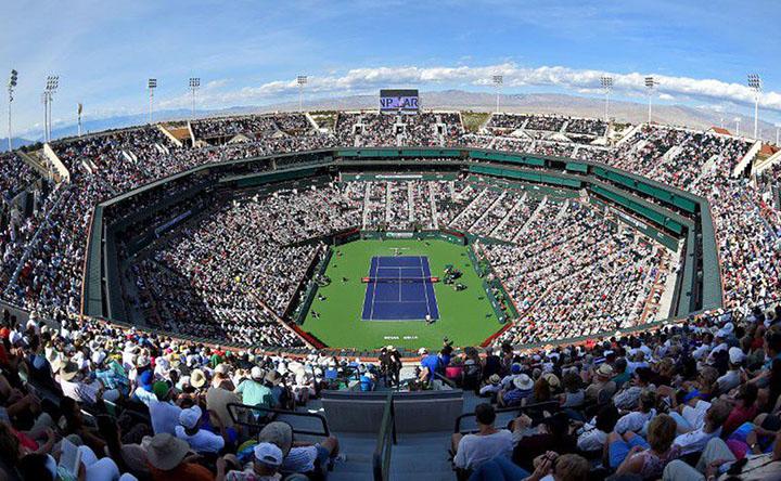 Indian Wells, torneio pode ser entre 8 e 21 de marco. Foto AgBr Reuters USATODAY, Jayne Kamin-Oncea