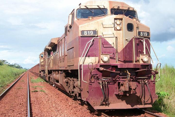 Ferrovias reduzem custo do frete e mal de acidentes nas rodovias. Foto Ag INFRA, Fernando Cunha
