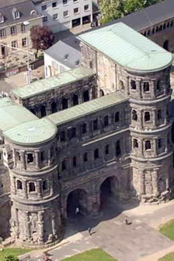 Trier, cidade antiga da Alemanha com mais de 2000 anos, lembra Roma