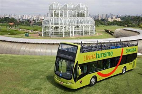 Curitiba Com Mais Uma Atração da Europa: Onibus de 2 Andares