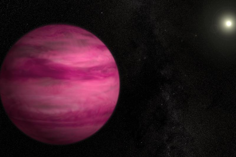 Novo Planeta, Rosa, Está Em Outro Sistema Solar